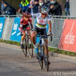 Ceylin del Carmen Alvarado wint de Ethias Cross Leuven
